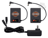 Harley-Davidson® Heated Dual Source 12V Glove Battery & Charger Kit