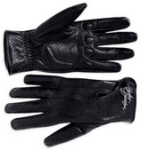 Harley-Davidson® *GMAR* Womens Perforated Full Finger Leather Gloves