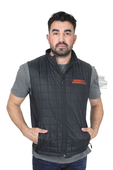 Harley-Davidson® Mens Stimulate Heated Black Vest