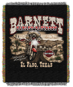 Harley-Davidson® Mexican Outlaw Throw Blanket