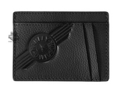 Harley-Davidson® Mens C4 Front Pocket Wallet Black Leather