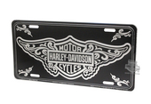 Harley-Davidson® Front Plate B&S w/Filigree