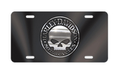 Harley-Davidson® Black Front License Plate Willie G - Acrylic