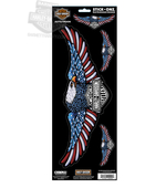 Harley-Davidson® Eagle With B&S Stick Onz™ Rear Window Decal