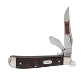 Harley-Davidson® Mini Trapper with Caplifter 10207 SS with Lava Kirinite Handle Black Knife by Case XX