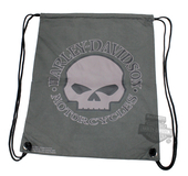 Harley-Davidson® Willie G Skull T-Shirt Material Water Resistant Backpack