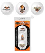 Harley-Davidson® Eagle Collector's Edition Tri-Pack Black Golf Ball