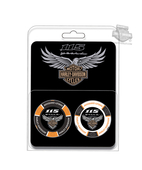 Harley-Davidson® 115th Anniversary Collector's Black & White 2PK Poker Chips