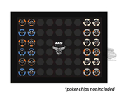 Harley-Davidson® 115th Anniversary 52 ct Collector's Poker Chip Frame