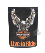Harley-Davidson® Eagle B&S Suede Reflections™ Double Sided Garden Polyester Flag