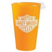 Harley-Davidson® B&S Silipint™ 16oz Silicone Orange Cup