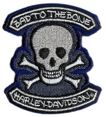 ** 2 for $5 ** Harley-Davidson® Bad Emblem One Size