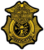 Harley-Davidson® Firefighter Original Small Patch Patch