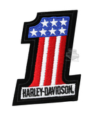 Harley-Davidson® #1 Rwb X-Small Patch