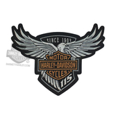 Harley-Davidson® 115th Anniversary Eagle Large Patch