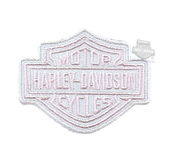 ** 2 for $5 ** Harley-Davidson® Girls Youth B&S Logo X-Small Pink Patch