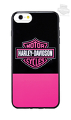 Harley-Davidson® Womens Color Block B&S iPhone 7 Pink Phone Shell
