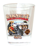 Harley-Davidson® Barnett H-D Mamacita Clear Short Shot Glass