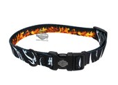 Harley-Davidson® Abstract Flames Sublimated 5/8
