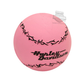 Harley-Davidson® Pet Toy Barbed Wire Latex Ball Pink