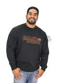 Harley-Davidson® Mens Build Your Freedom B&S Fine Line Fleece Black Long Sleeve Sweatshirt *30HR*