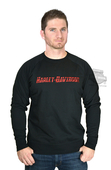 Harley-Davidson® Mens Accelerated Adrenaline Fleece Pullover Black Long Sleeve Sweatshirt *CIJ*