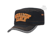 Harley-Davidson® Womens Screamin Eagle Glitter Text Cadet Black Painters Cap