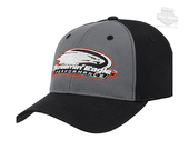 Harley-Davidson® Mens Ringer Screamin Eagle Black Stretch Fit Baseball Cap