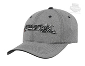 Harley-Davidson® Mens Hype Performance Screamin Eagle Grey Stretch Fit Baseball Cap