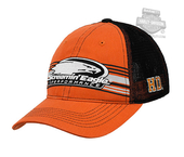 Harley-Davidson® Mens Screamin Eagle Vintage Stripe Mesh Orange Baseball Cap