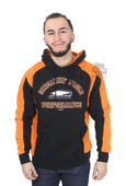 Harley-Davidson® Mens Screamin Eagle Competitor Pullover Black Long Sleeve Hoodie