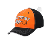 Harley-Davidson® Boys Toddler Screamin Eagle Doodle B&S Orange Baseball Cap