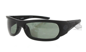 Harley-Davidson® HD0625S02R Matte Black Frame Green Polarized Lens Sunglasses by Marcolin Eyewear