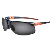 Harley-Davidson® Safety Eyewear Black & Orange with Grey Lenses