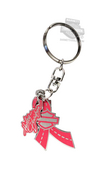 Harley-Davidson® Pink Label Ribbon with B&S Multi Charm 1.5
