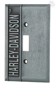 Harley-Davidson® H-D Name Single Switch Plate