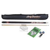 Harley-Davidson® B&S Cue with Case Gift Set