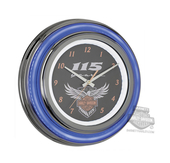 Harley-Davidson® 115th Anniversary Double LED Clock