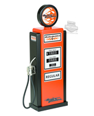 Harley-Davidson® Gas Pump with Flames Graphics Bar Lamp