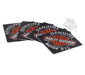 Harley-Davidson® Genuine Trademark B&S Oil Can Coasters