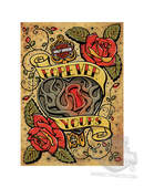 Harley-Davidson® Forever Yours Valentines Day Greeting Card