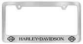Harley-Davidson® Chrome License Frame Open B&S Bottom