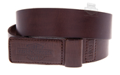 Harley-Davidson® Mens Mechanics Trademark B&S Covered Buckle Brown Leather Belt by LODIS *2DY*