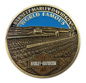 Harley-Davidson® Barnett HD World Famous Dealer Exclusive 1.75