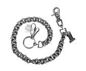 Harley-Davidson® Mens Uno #1 Skull Medallion Wallet Chain by LODIS