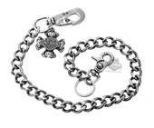 Harley-Davidson® Mens Evolution B&S with V-Twin Motors Wallet Chain by LODIS