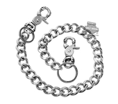 Harley-Davidson® Mens Death Grip Skull Snaphooks Wallet Chain by LODIS