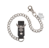 Harley-Davidson® Mens Road Wing Upwing Eagle with B&S Wallet Chain by LODIS *18HR*