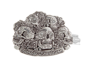 Harley-Davidson® Womens Glam Reaper Skulls with Roses Buckle by LODIS