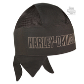 Harley-Davidson® Mens Long B&S Olive Cotton Headwrap